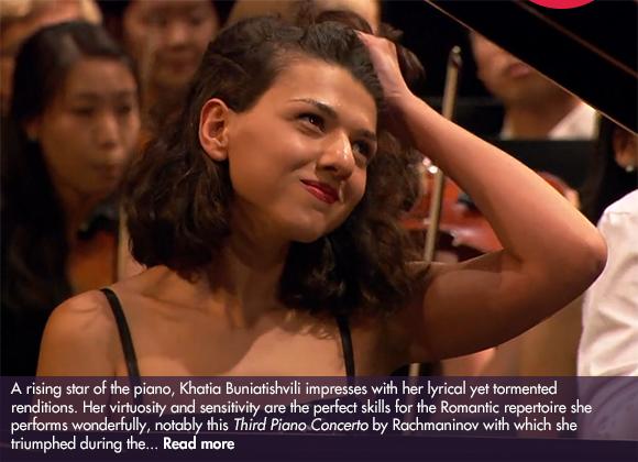 Khatia Buniatishvili performs Rachmaninov